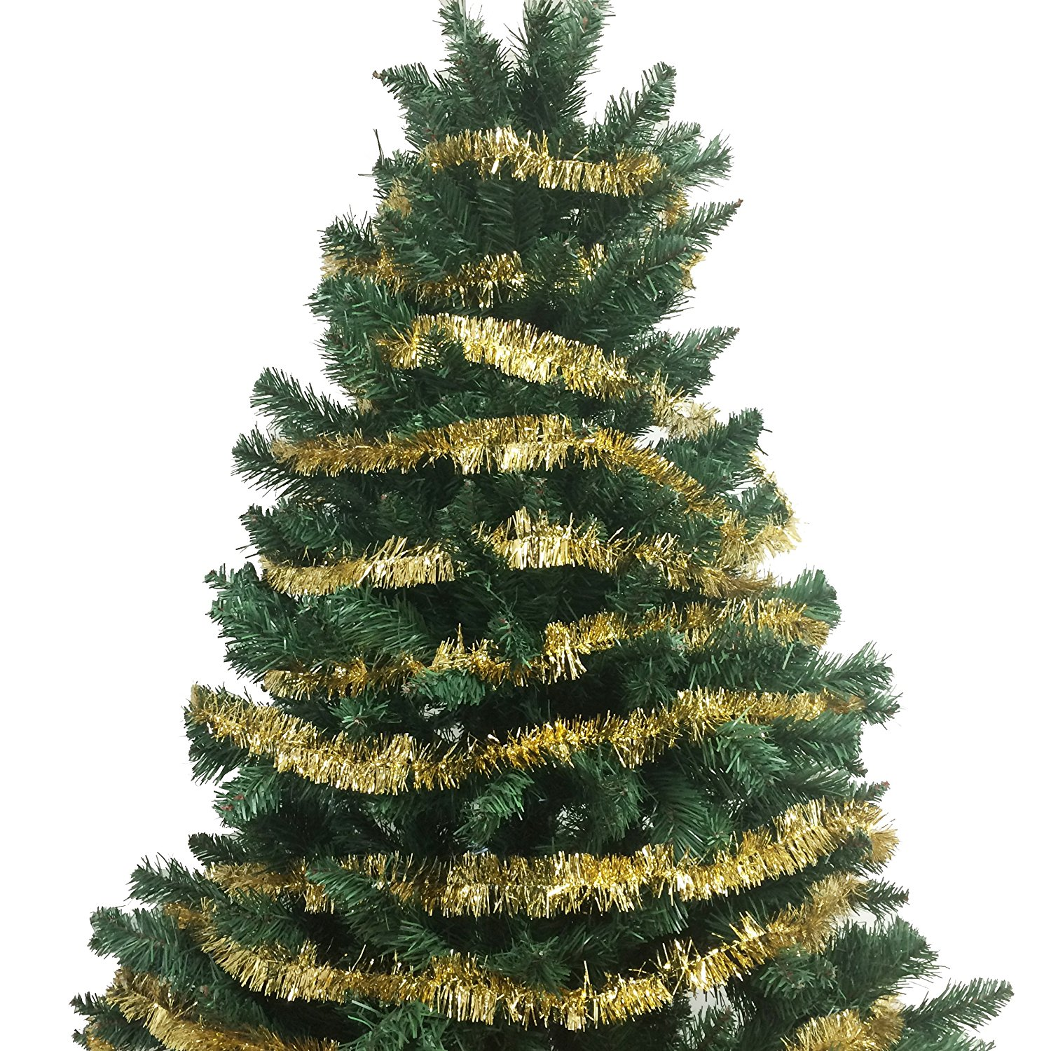 100 Ft Commercial Length Christmas Garland Classic Christmas Decorations Gold